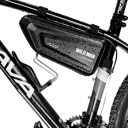 WUZHENG Bolsa De Cuadro De Bicicleta, Bolsa Impermeable para ...
