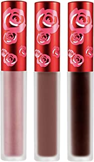 product image for Lime Crime Ombre Magic Lip Bundle, Salem and Cindy Matte Velvetines - True Brown/Terracotta Brown and Happi Metallic Velvetine (Rose Bronze)