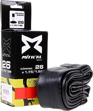 MITICAL Cámara Bicicleta AV 26X1.75/1.95 (Talla: T.U.): Amazon.es ...