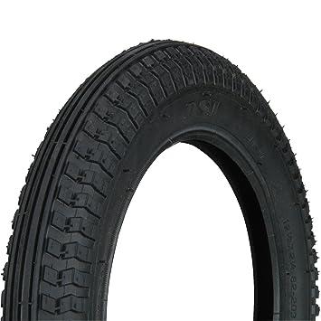 Profex - Cubierta antipinchazos para bicicletas de paseo (12 œ x 2 Œ), color negro: Amazon.es: Deportes y aire libre