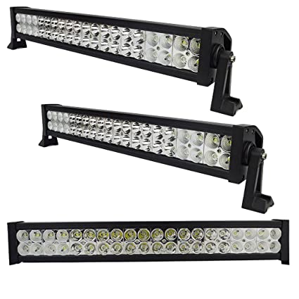 PrimLight 3pcs 120W Luz del Trabajo de LED Proyector de la Barra ...