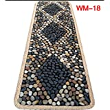 EliteShine Massage Mat Bathroom Mat Kitchen Rug Stone Walkway Yoga Mat