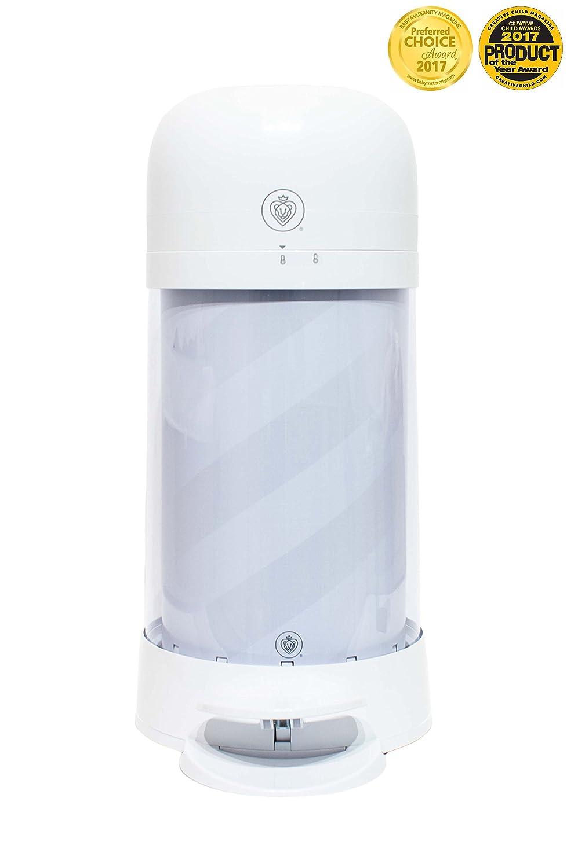 Prince Lionheart Twist'r Diaper Disposal System, White Candy Stripe 9301