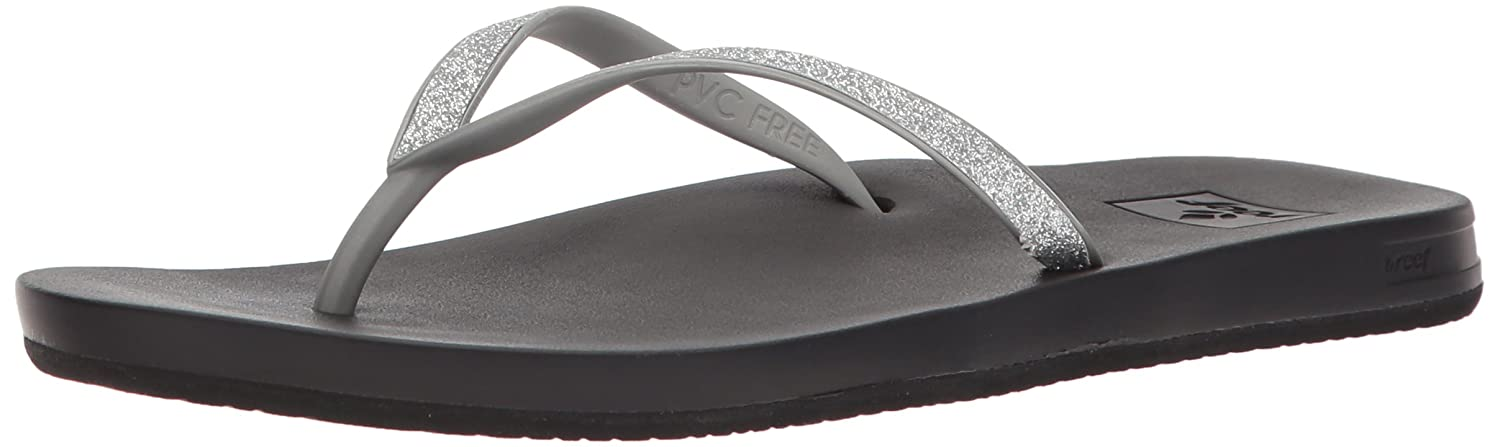 REEF Womens Sandals Cushion Bounce Stargazer Glitter Flip Flops for Women with Cushion Bounce Footbed