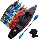Riber One Man Sit On Top Standard Kayak Lake Blue beginners Starter Pack