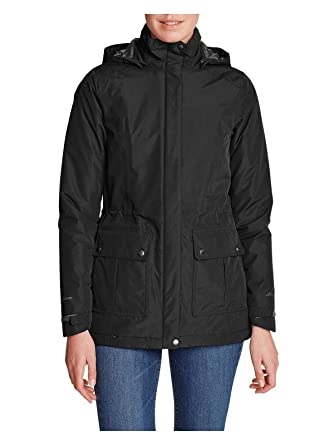 4e748b5772076 Eddie Bauer Women s Rainfoil Fleece-Lined Parka at Amazon Women s ...