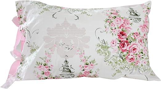 Rachel ASHWELL SHaBby Chic Wildflower Cream Pink Pillow Sham YOU CHOOSE SIZE