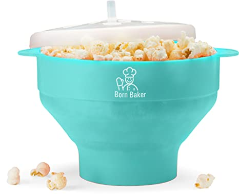 Amazon.com: Born Baker Collapsable Microondas palomitas de ...