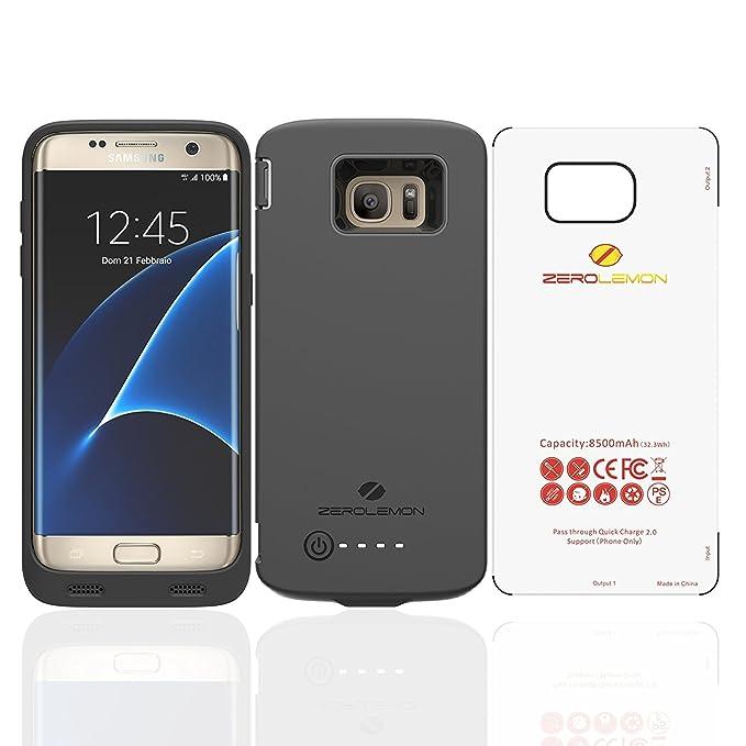 Carcasa con extensión para batería para Samsung Galaxy S7 Edge ...