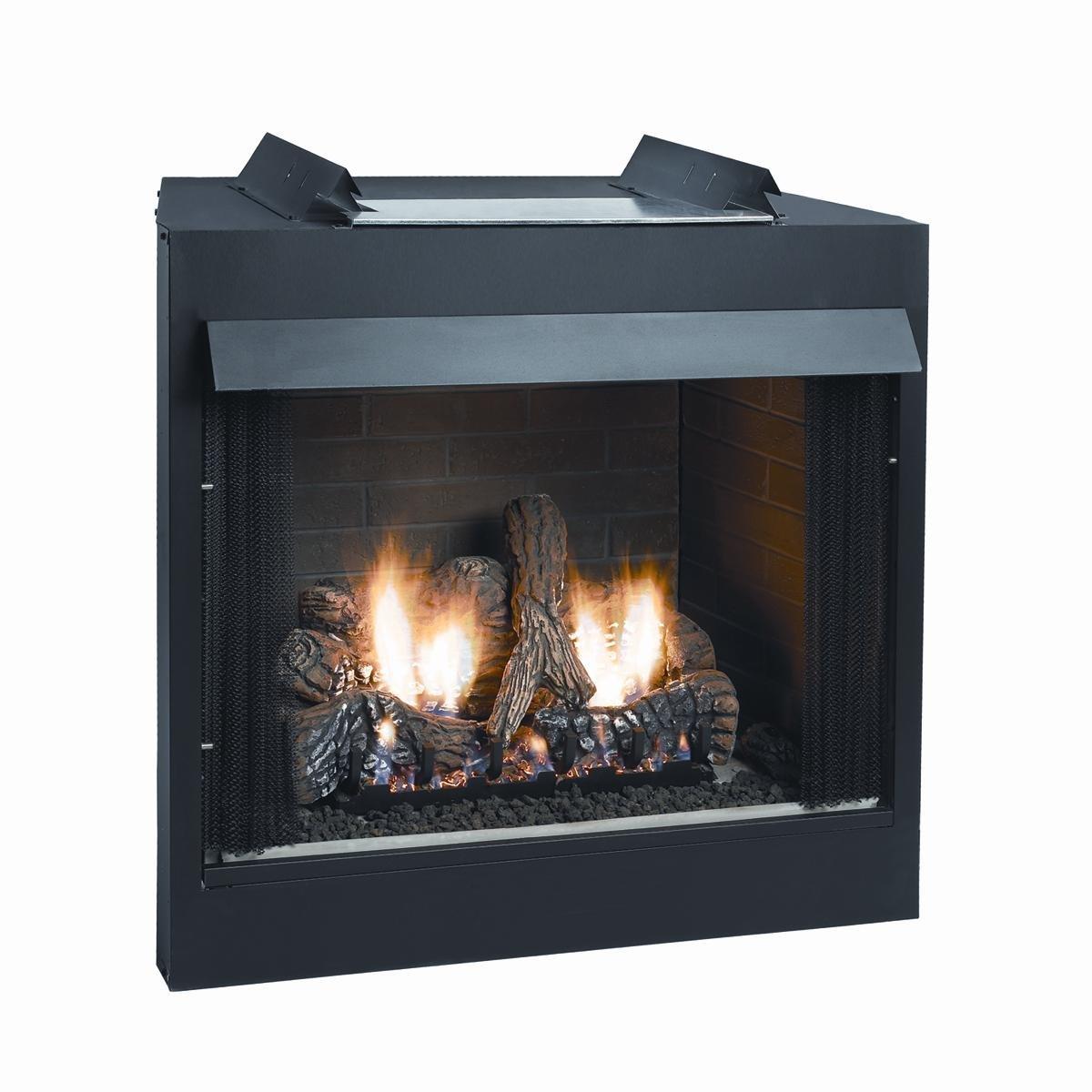 amazon com deluxe 42 inch vent free firebox flush face home