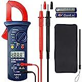AstroAI Digital Clamp Meter, Multimeter Volt Meter with Auto Ranging; Measures Voltage Tester, AC Current, Resistance…