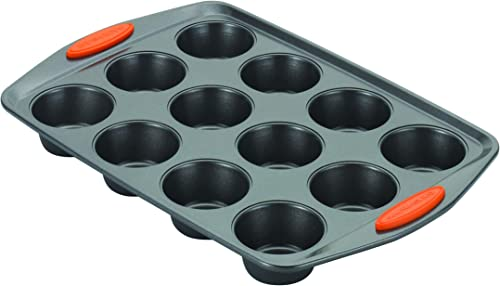 Rachael-Ray-Nonstick-Bakeware-12-Cup-Muffin-Tin