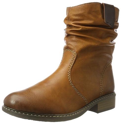 Rieker es y Botas Mujer Amazon complementos Zapatos para Z4180 77qwOz