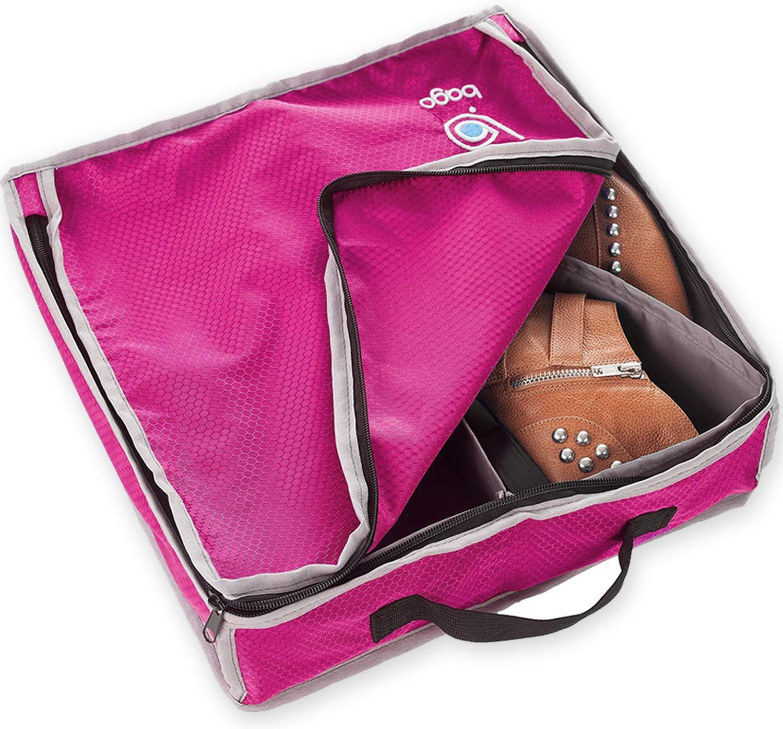BAGO – Bolsa Para Zapatos (2 Pares Negro) ShoeP-Black
