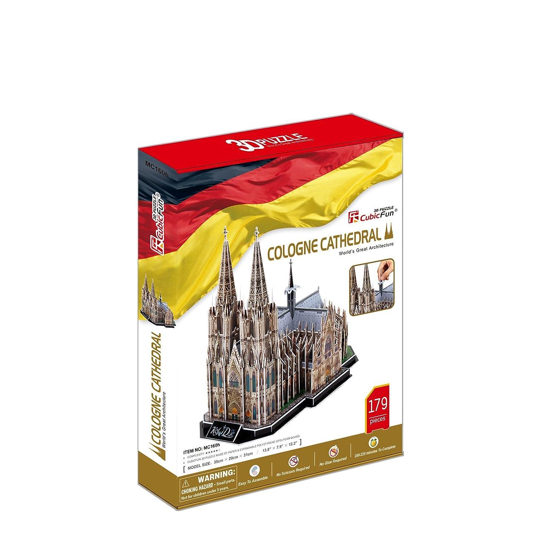 CubicFun - Puzzle 3D Catedral de Colonia (771MC160): Amazon.es: Juguetes y juegos