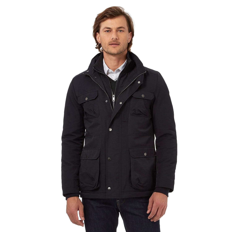J By Jasper Conran Mens Big And Tall Navy Four Pocket Jacket