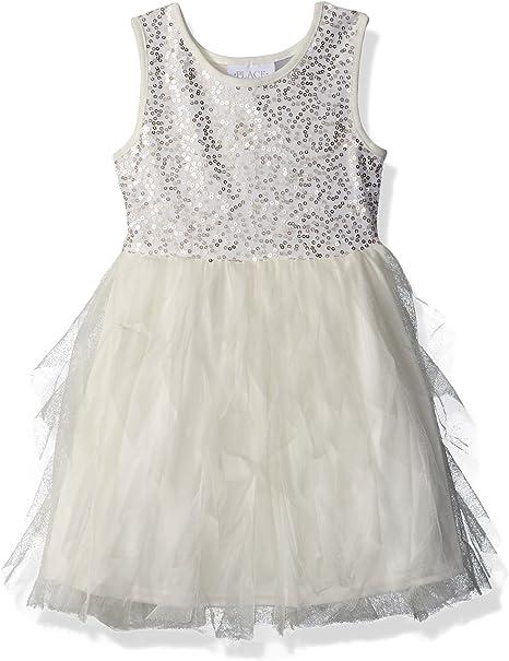 Girls Sequin Dress