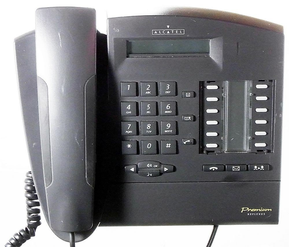alcatel premium reflexes 4020 telefon anthracite system ip id5714 rh amazon co uk manuale telefono digitale alcatel 4020 manuale telefono digitale alcatel 4020