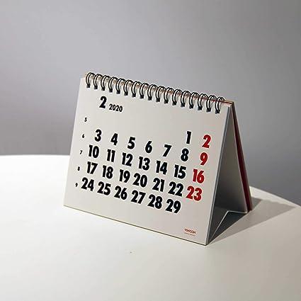 Calendario de mesa VINÇON 2020, 16 x 12 cm,: Amazon.es: Oficina y ...