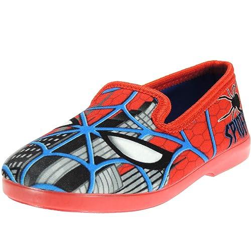 Alcalde 702 Zapatilla Cerrada Spideman Perfumada Invierno de Casa para Niño: Amazon.es: Zapatos y complementos