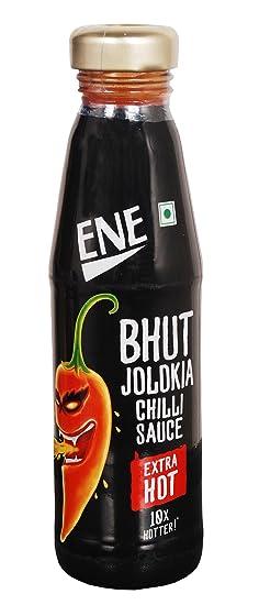 Bhut Jolokia Chilli Sauce, Extra Hot, 190g