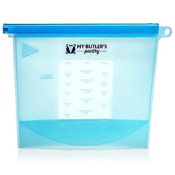 Amazon.com: Bolsas de silicona reutilizables para ...