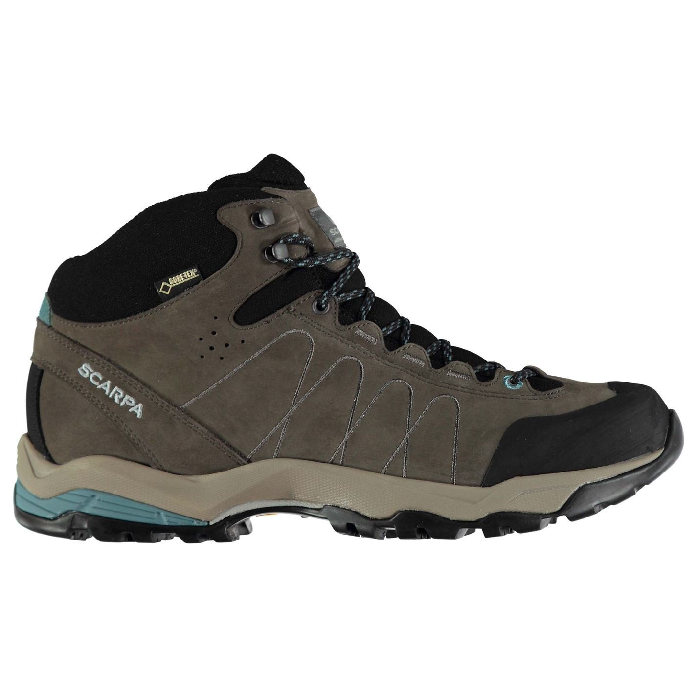 Scarpa Womens Moraine GTX Walking Shoes Boots Lace Up Padded Ankle Collar Tongue