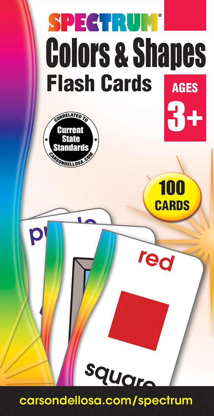 Colors & Shapes Flash Cards by Carson-Dellosa (Image #1)