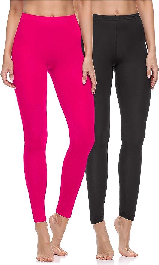 Merry Style Leggings Lunghi Pantaloni Donna MS10-263 M/élange, XL//168