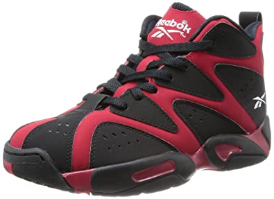 0a79d6e87e2fe0 Reebok Kamikaze 1 Mid Mens Basketball Trainers hi top Sneakers Shoes (UK 11  US 12