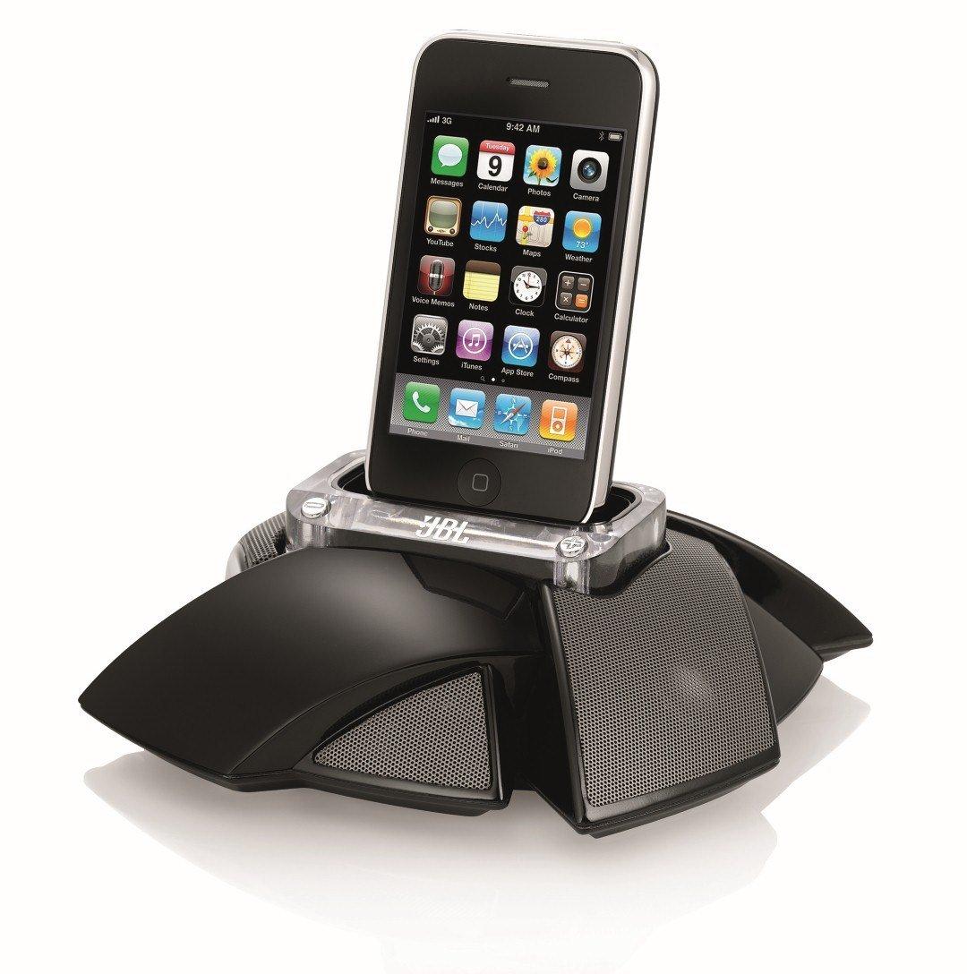 JBL On Stage Micro III Portable Loudspeaker for iPod and iPhone (Black) JBLOSM3BLKAM
