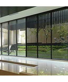 KREEPO Privacy Window Tint for Home Solar Film Heat Control Window Film Office Privacy Glass Window Sticker Smooth Glass CV 24''x50''