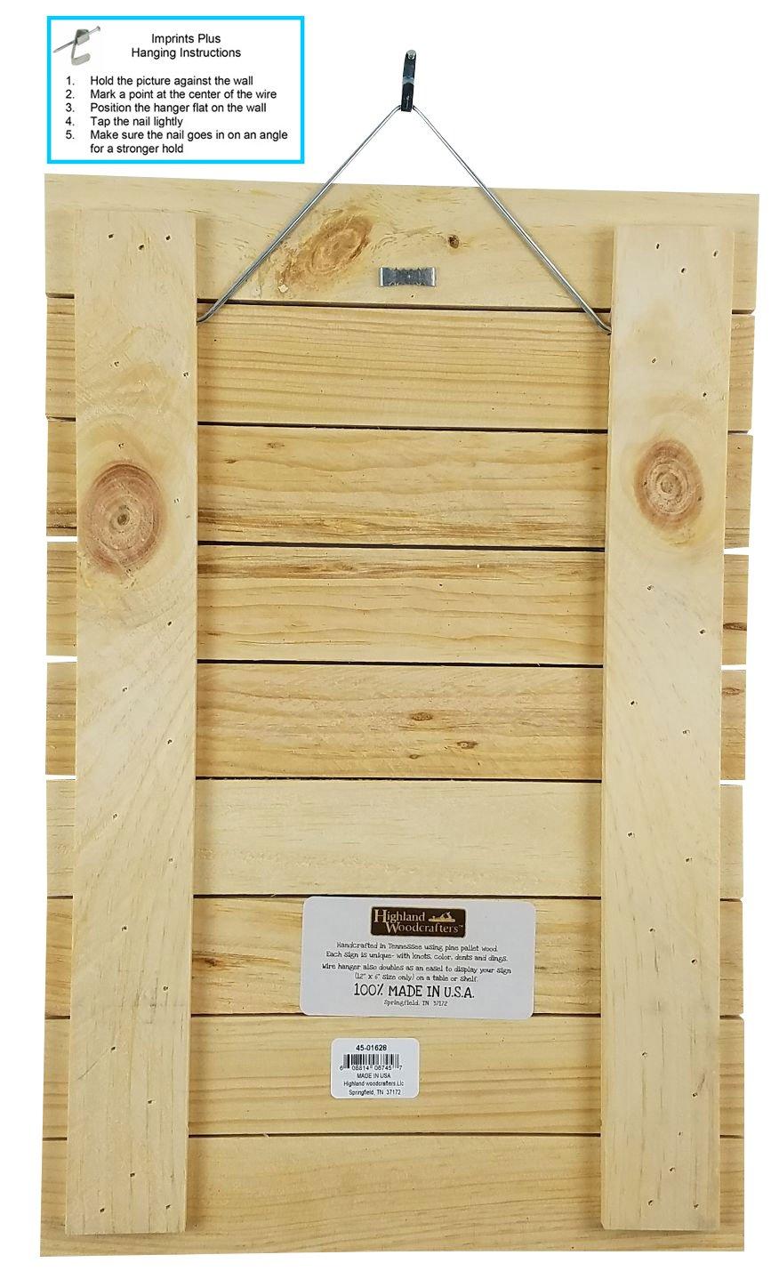 Amazon.com: Imprints Plus Gratitude Inspirational Distressed Wood ...