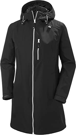 Helly Hansen Women's Breathable Raincoat Jacket with Hood