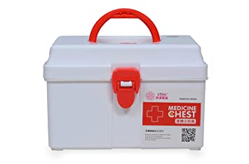 Fashion World Portable and Sturdy First-aid Boxes for Medicines