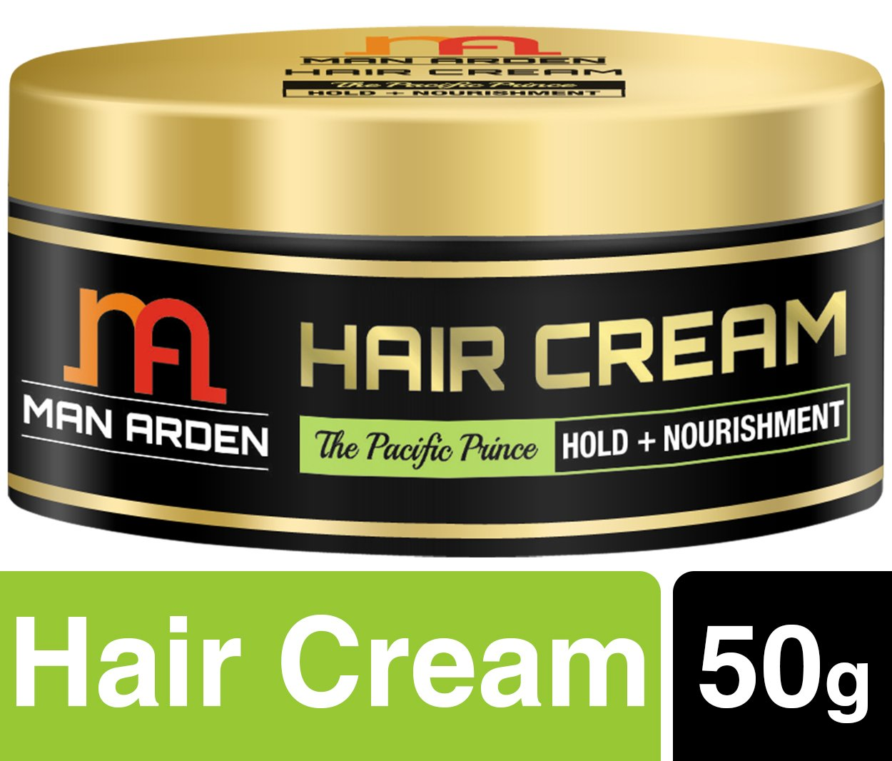 Man Arden Hair Styling Cream Pacific Prince (Hold + Nourishment) No Mineral Oil/Sulphate, 50gm product image