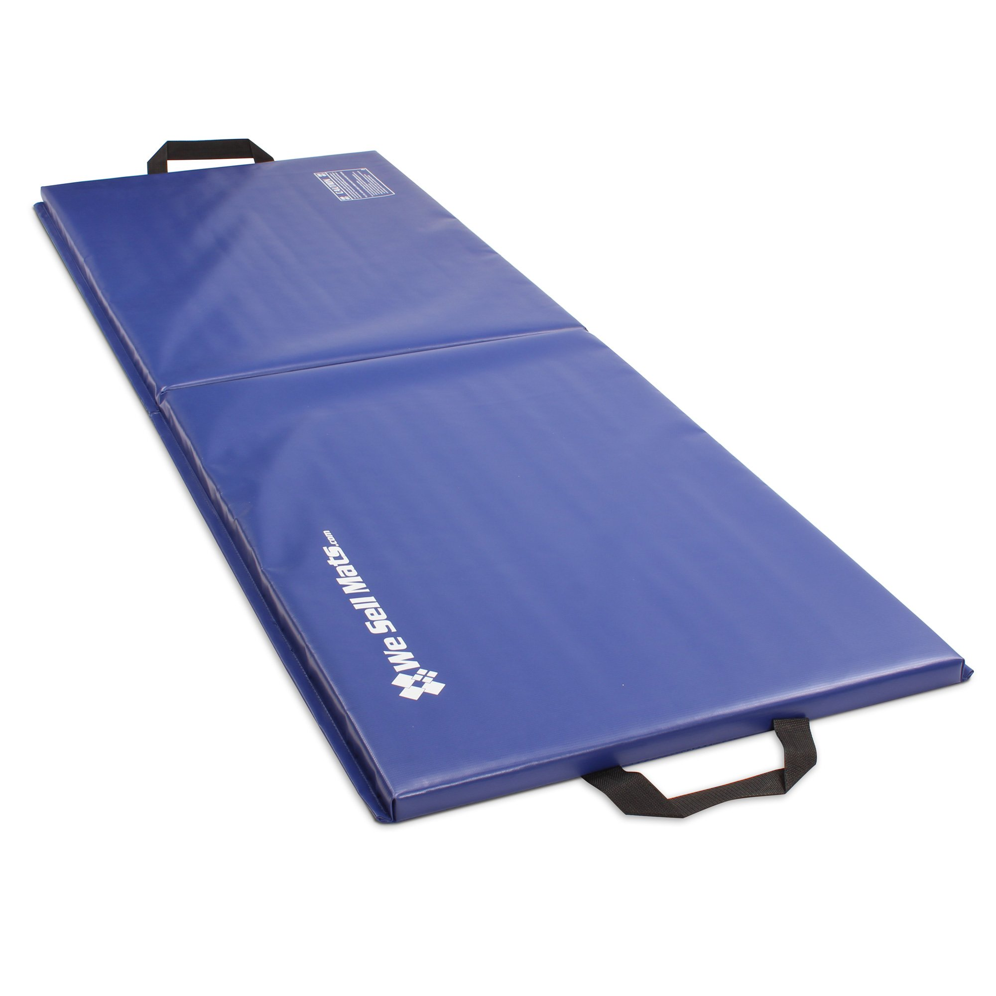 We Sell Mats 2x6 Folding Exercise Mat, Blue