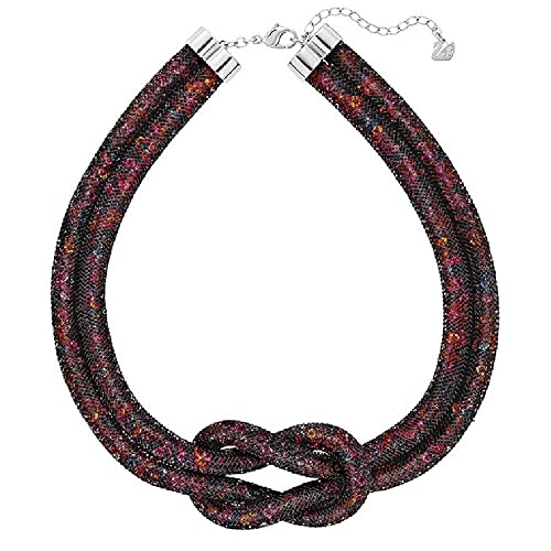 1d838a27835b4 Swarovski Palladium-Plated Stardust Black Luxury Set 5184476: Amazon ...