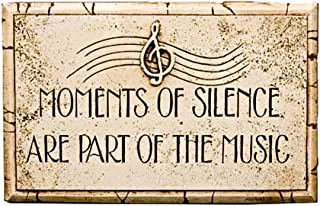 product image for Piazza Pisano Moments of Silence are Part of The Music Wall Plaque