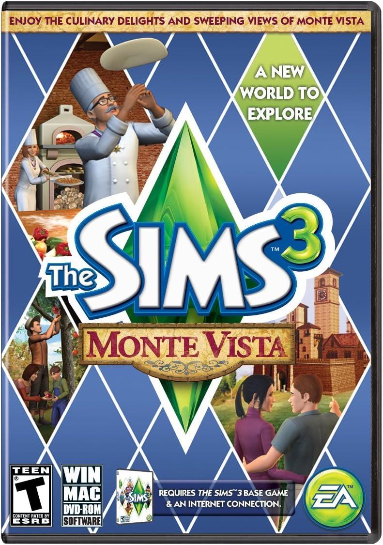 Amazon com: The Sims 3 Monte Vista: PC: Video Games
