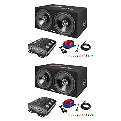 Magnificent Amazon Com Audiopipe Loaded Dual 12 Subs Amp And Wire Kit Car Audio Wiring 101 Hemtstreekradiomeanderfmnl