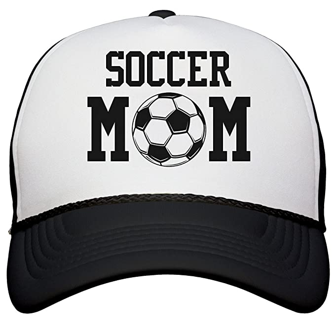 10102e30618 Amazon.com  Customized Girl Soccer Mom Hat Gifts for Mom  Snapback Trucker  Hat  Clothing