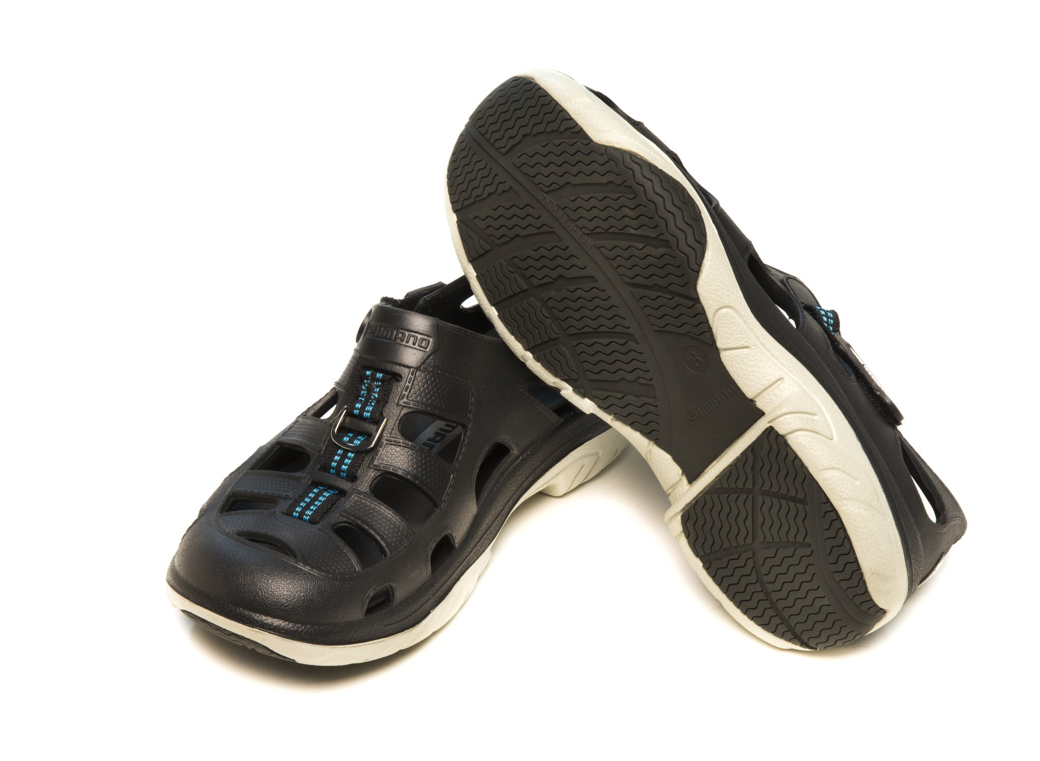 Shimano EVAIR MARINE Fishing Shoes, Size 06, Black by Shimano