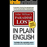 John Milton's Paradise Lost In Plain English (English Edition)