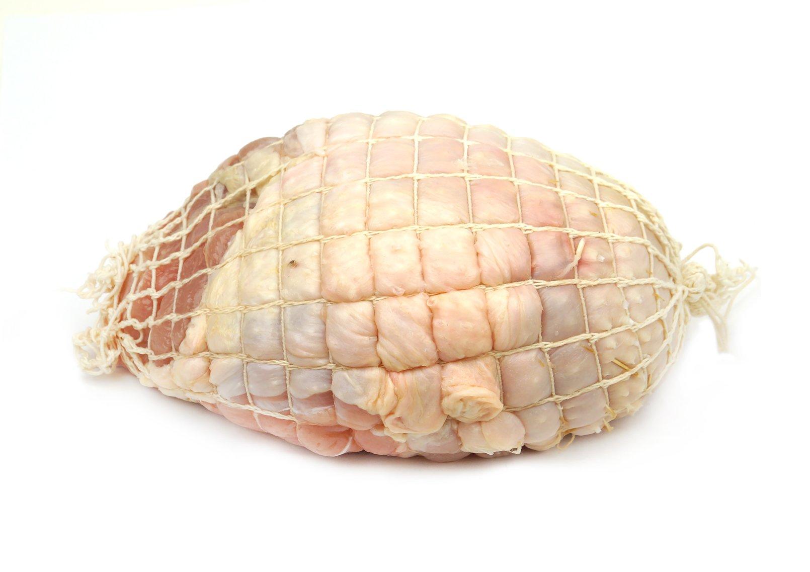 Kosher Organic Turkey Breast Roast W/skin, Netted (4.75-5.15 Lbs)