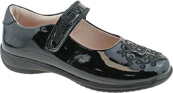 Lelli Kelly BEGONIA Girl/'s Black Patent Dolly School Shoe LK8313 Sizes F Fitting