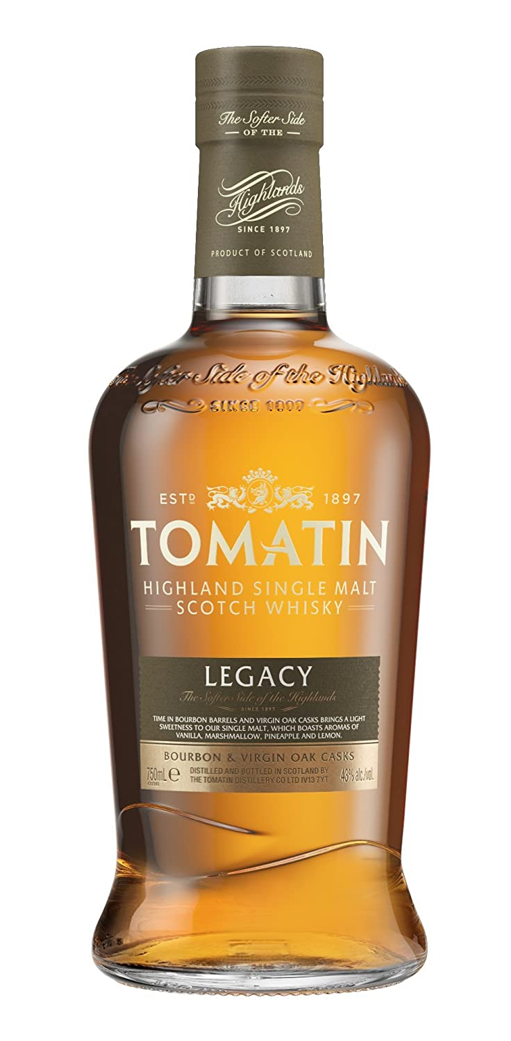 Lækker Tomatin Legacy Highland Single Malt Whisky, 70 cl: Amazon.co.uk GE-36