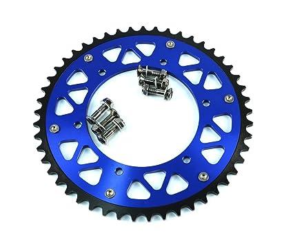 52T CNC Rear Chain Sprocket For Yamaha YZ125 YZ250 YZ250F