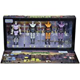 Sdcc 2016 tmnt foot soldiers teenage mutant turtles Neca exclusive comic con arcade Box set four figurines