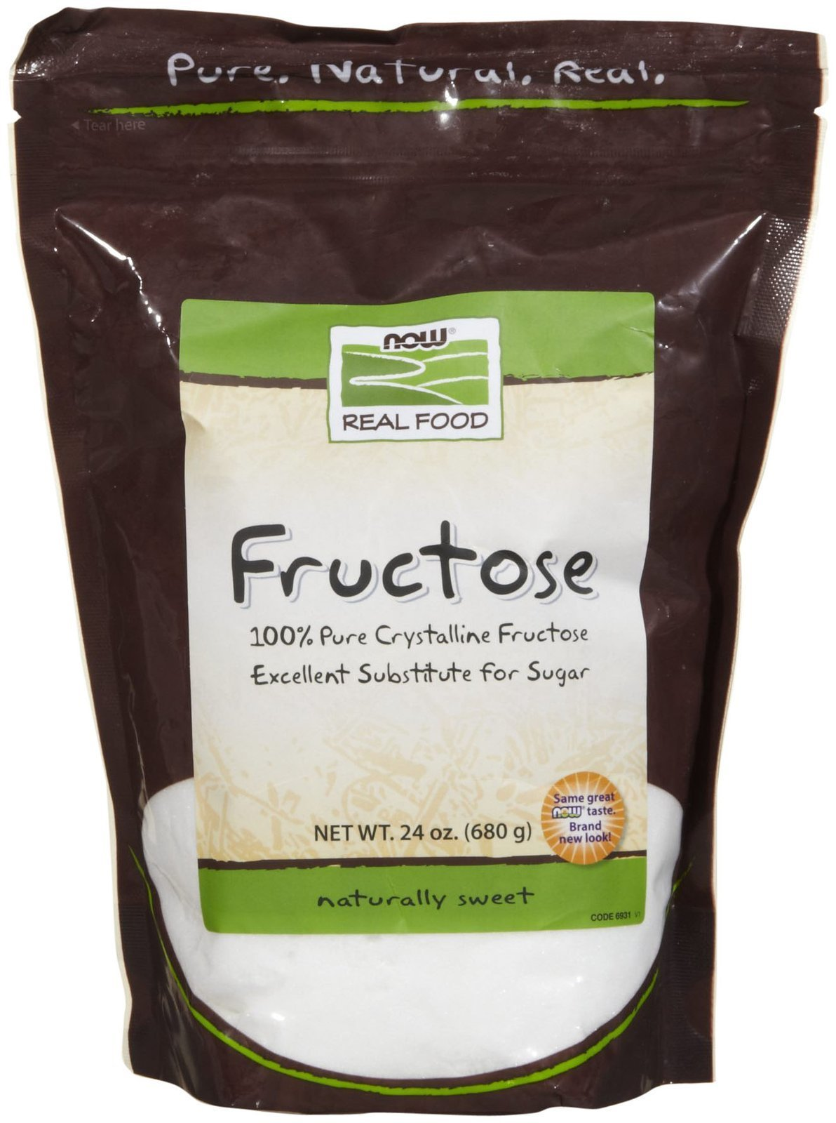 NOW FOODS Fructose, 24 OZ